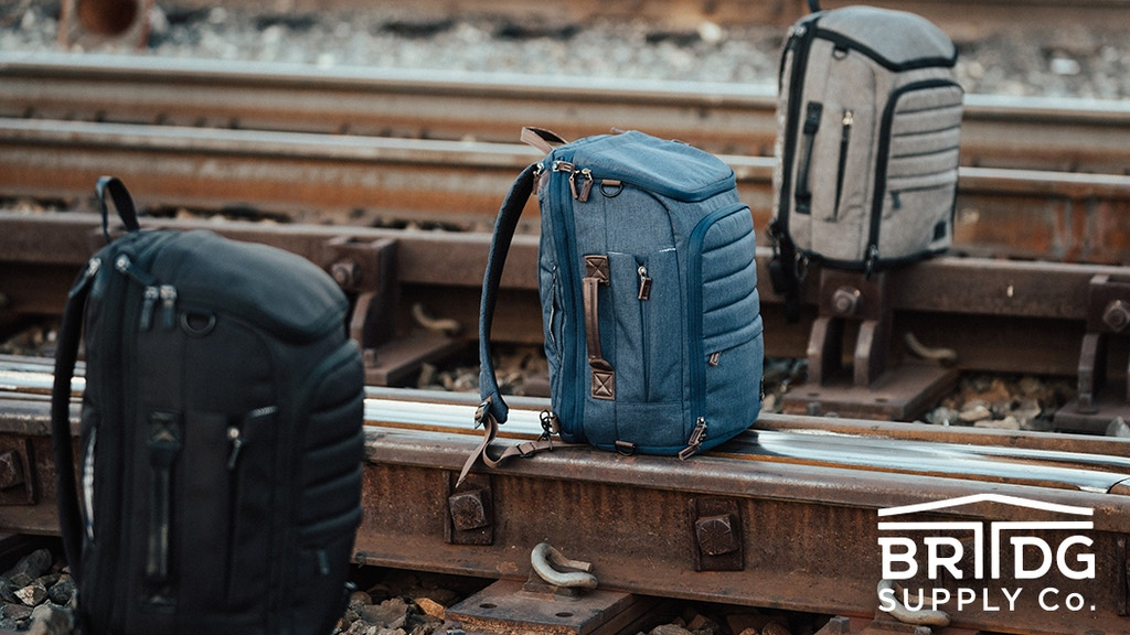BRIIDGS: The Ultimate Weekender 2-In-1 Travel Pack + Duffle