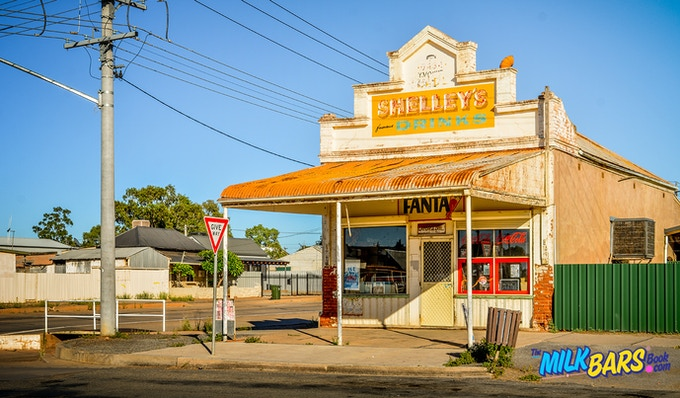"""""""Outback Dee Bee's Deli"""" Eamon Donnelly MILK BARS Book"""
