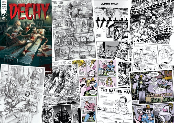 samples from DECAY #17 (April 2014)