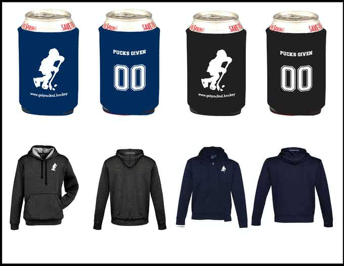 Koozies and hoodies for reward