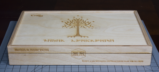 Personalized laser engraving