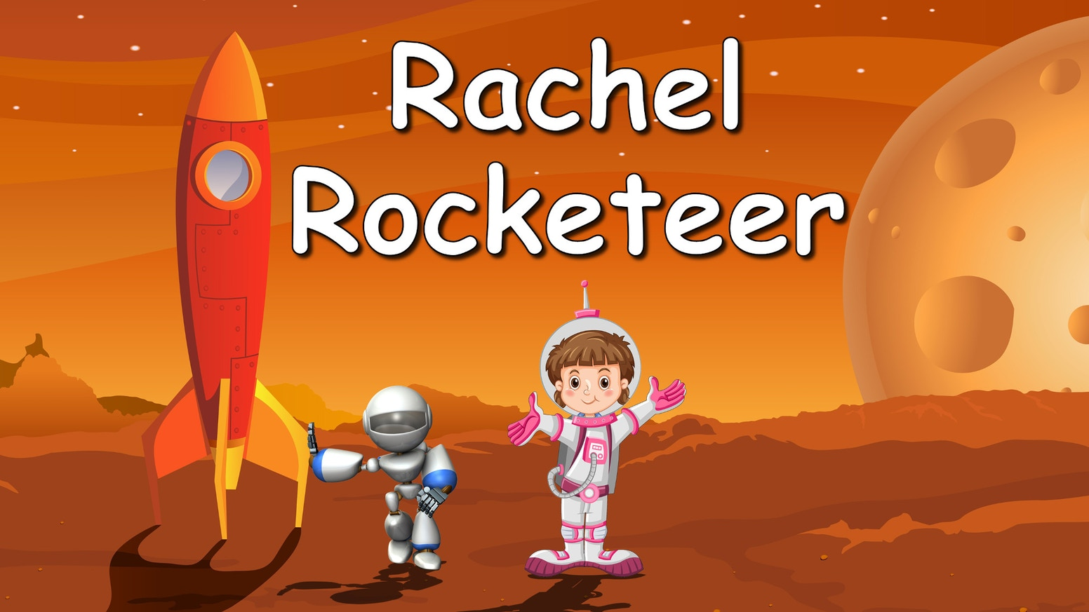 An illustrated STEM-filled storybook about a girl's quest to design, build and test a rocket that can take her to Mars.