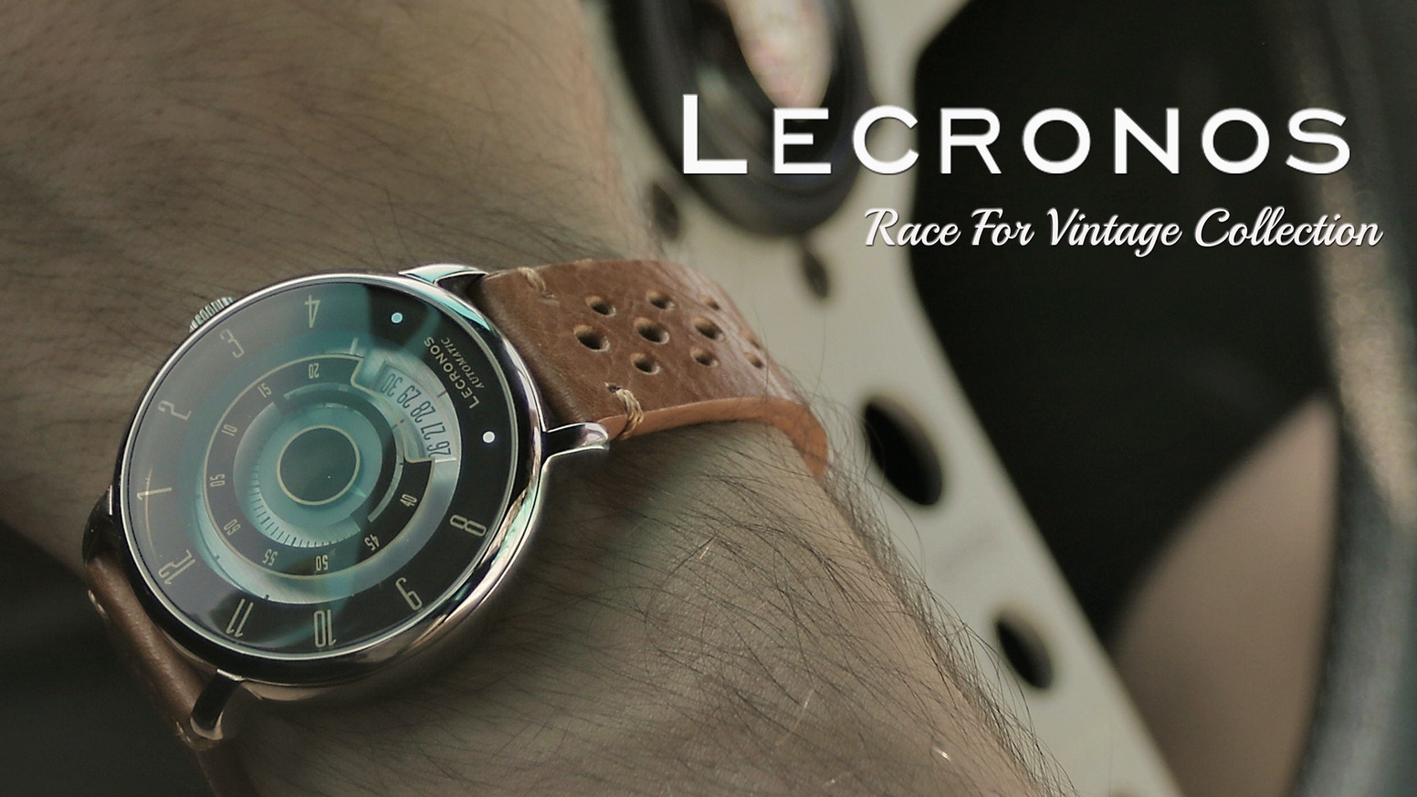 US$149 Japan Automatic Vintage Racing Design Watches by LENVINO ...