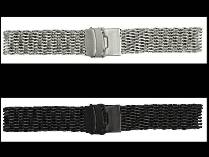 2nd Stretch Goal - 316L Stainless Steel Shark Mesh Bracelet