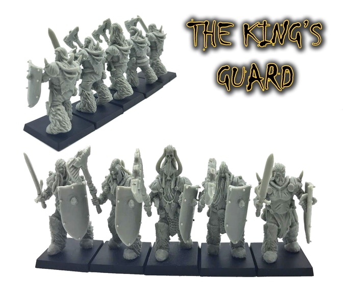 The Barbarians Warband By Windmaster Miniatures —Kickstarter