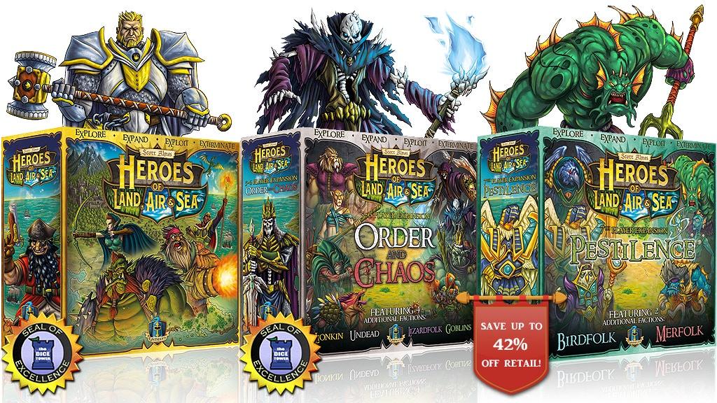 Heroes of Land, Air & Sea: Pestilence + HLAS 2nd Printing project video thumbnail