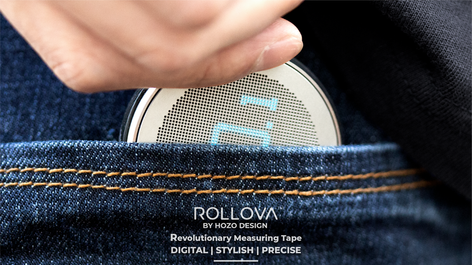 Replacing traditional Measuring Tape | Pocket-friendly gadget | Measure curves and lines | One roll at a time