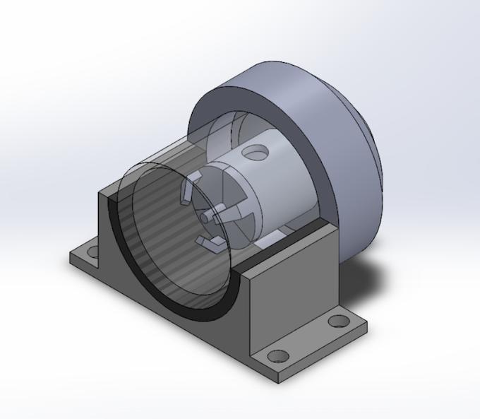 Laser Ablation Chamber