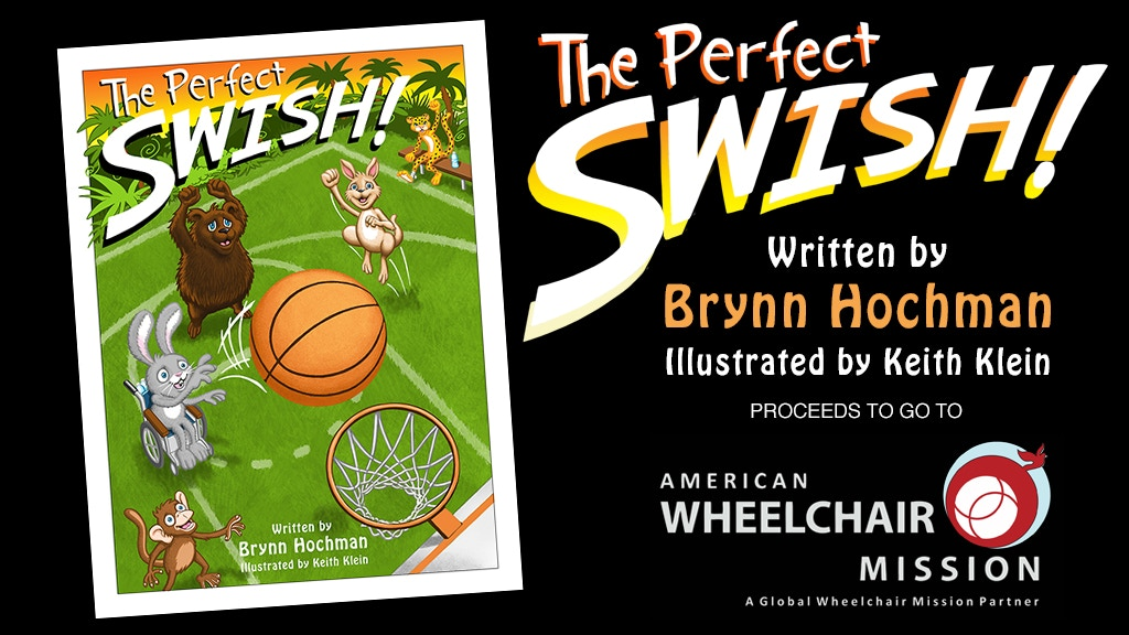 The Perfect Swish (Rhyming Children's Book) project video thumbnail