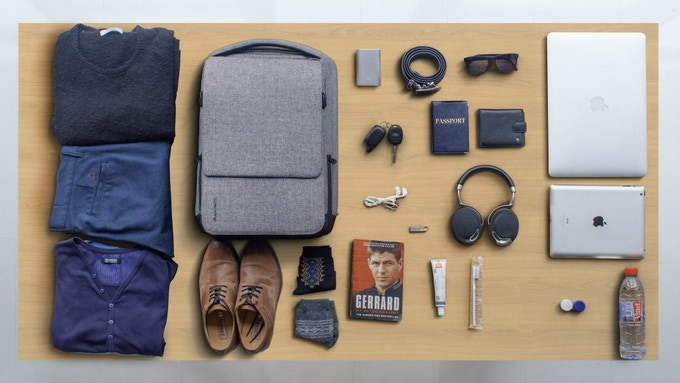 A perfect daypack for traveling