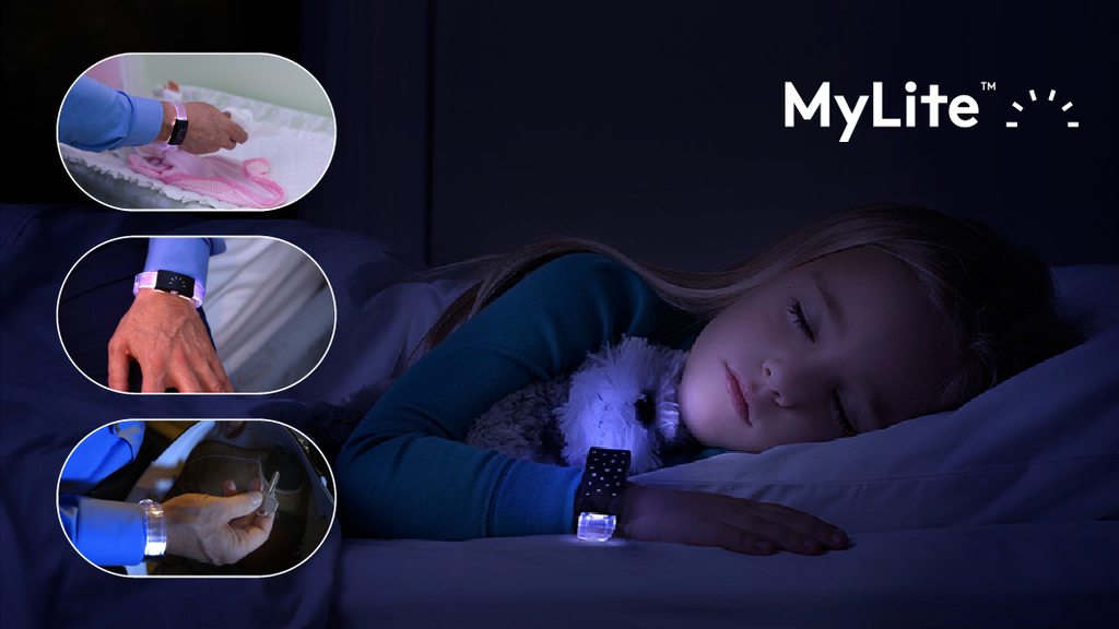 MyLite™ | A wearable LED wristband night light. project video thumbnail