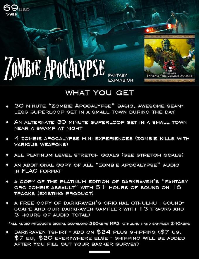 Zombie Apocalypse by Darkraven Europe by Darkraven Games