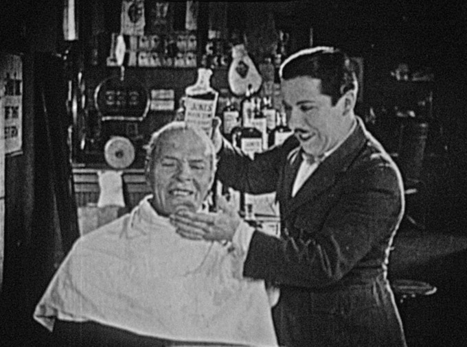 THE IMPROVISED HAIRDRESSER