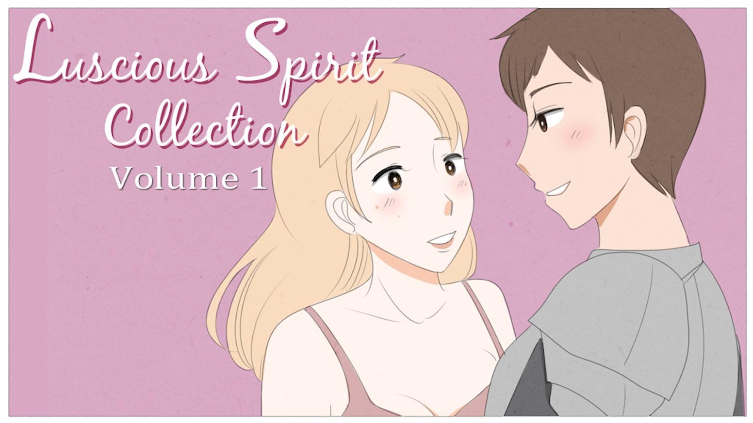 Anime Cute Lesbians lesbian romance short stories - luscious collection volume 1