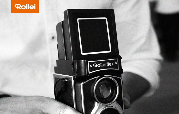 The First Rolleiflex™ Instant Camera - in 2018!