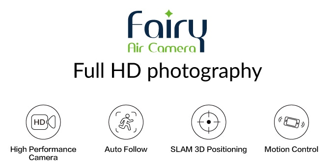 Fairy Drone: The Ultraportable FHD Aerial Photographer $99