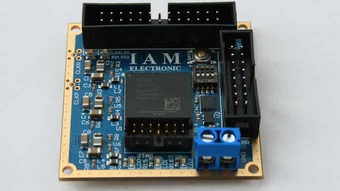 Tiny FPGA Module with Xilinx Artix-7 XC7A35T-1FTG256C