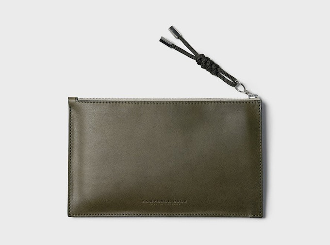 Pledge £110 or more – CAMPBELL COLE: A6 POUCH + MAGAZINE