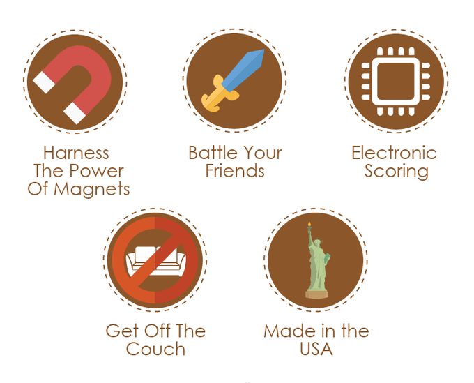 MagneTag | Wage Foam Warfare on Your Friends and Loved Ones by Adam