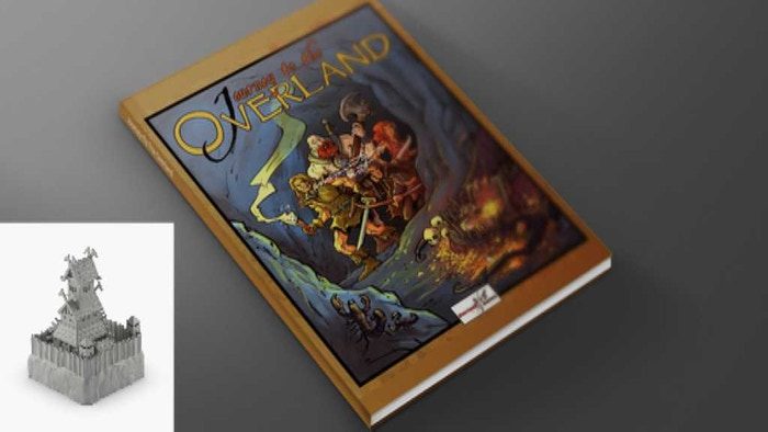 Journey To The Overland is a Solo Tabletop Roleplaying game that combines the best of roleplaying, board games and tabletop miniatures.