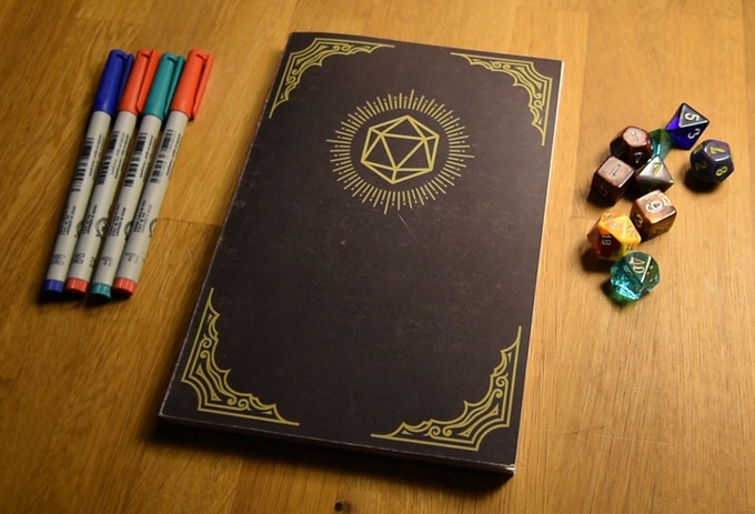 HeroBook - The 5E Player Character Notebook by Material