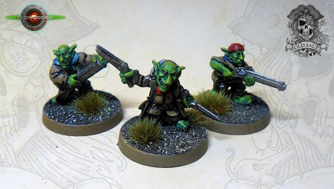 Goblin Crewmen Rifles £6