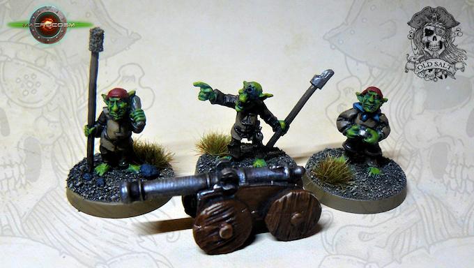 Goblin Cannon And Crew £9
