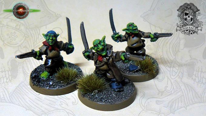 Goblin Crewmen Pistols £6
