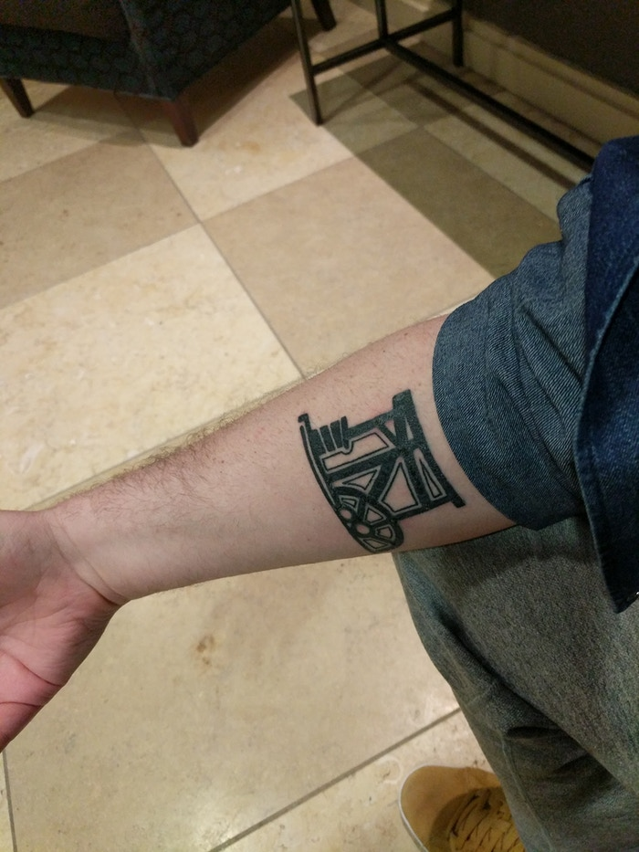 The co-designer of Brass: Birmingham, Matt Tolman, has shown his love for Brass with a brand new tattoo.  I'm jealous.