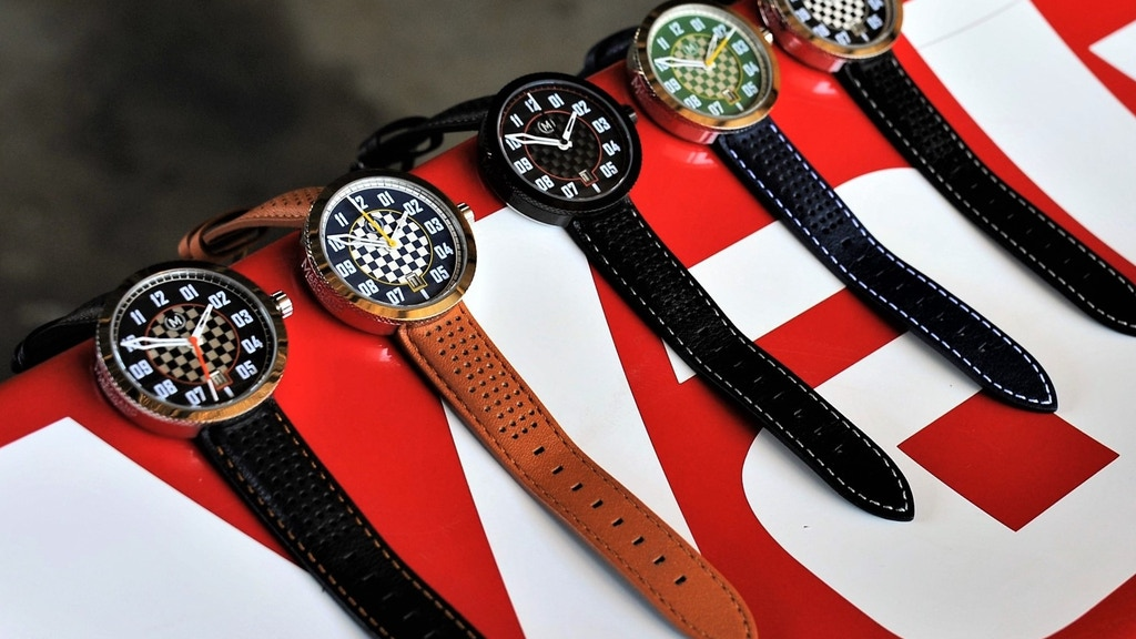 Marchand 'Legacy' Auto Watch - Wearable Motor Racing Passion