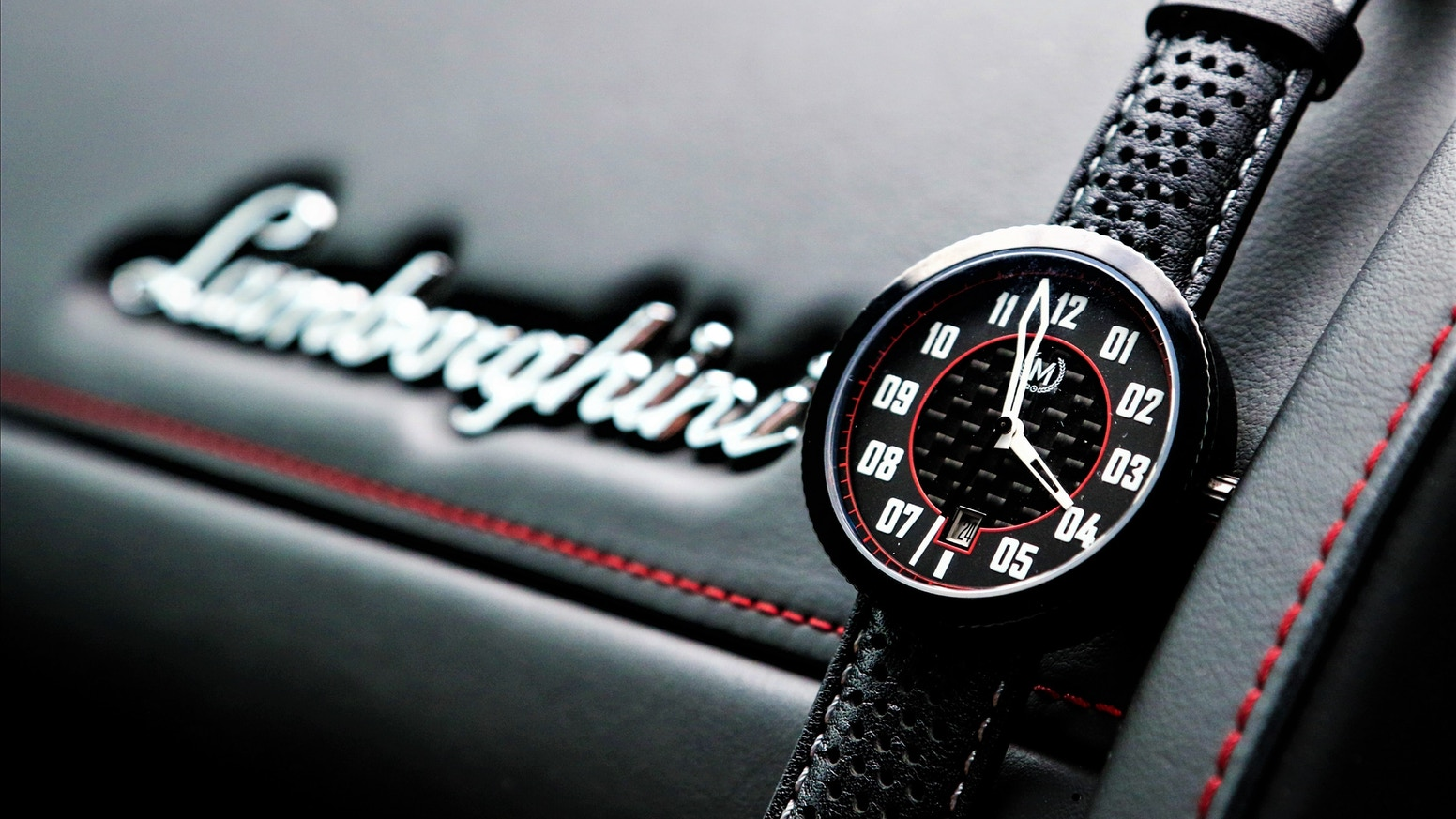 Designed by racers for racers, the chequered racing inspired Legacy is the first automatic watch by Marchand.