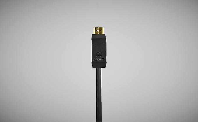 Vivify 4K UHD Optical Fiber HDMI Cable with LED light up