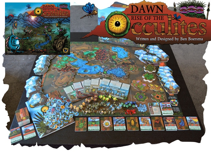 Full contents of Painted Dawn - Rise of the Occulites
