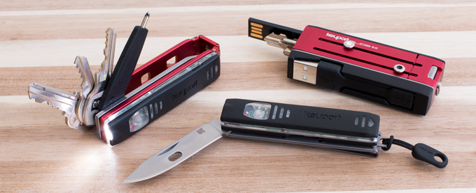 Anywhere Tech and Tool Modules are also compatible with the Keyport Slide 3.0 (sold separately) & Keyport Pivot (available as an add-on for 25% OFF)