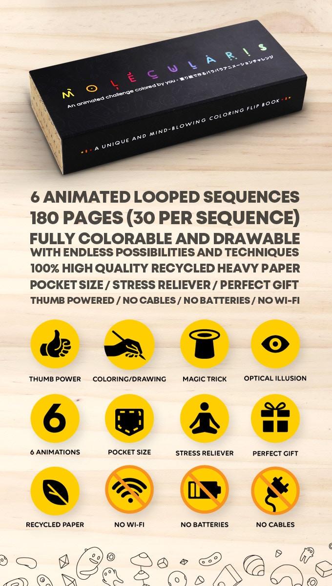 Molecularis Reinventing The Flip Book By Flipboku Kickstarter