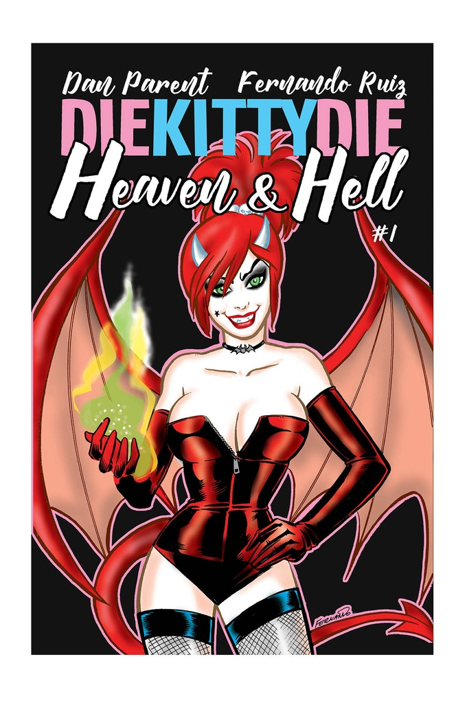 "Fernando's ""Devilish"" cover for issue #1"