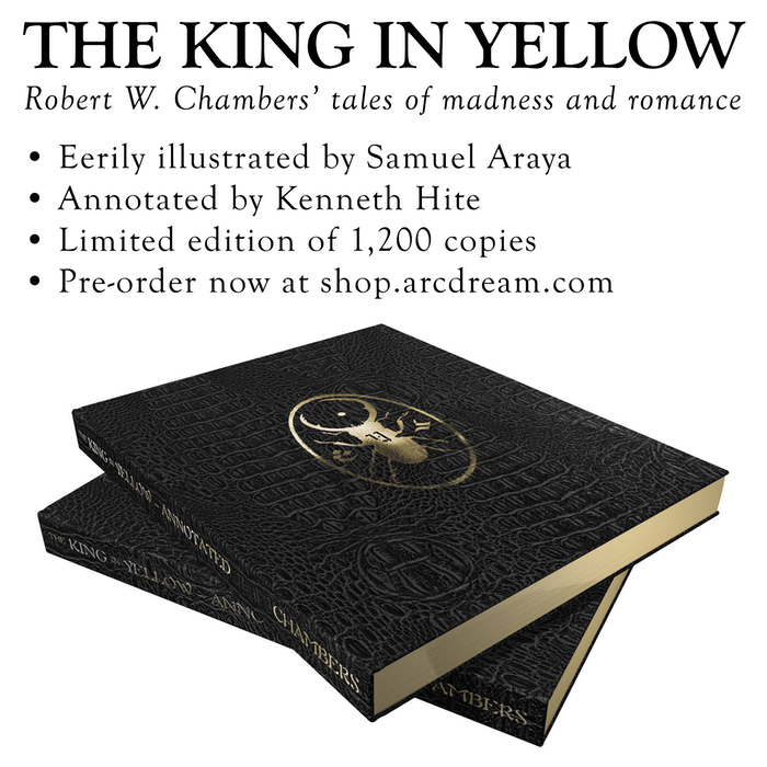 The King in Yellow -- Annotated edition