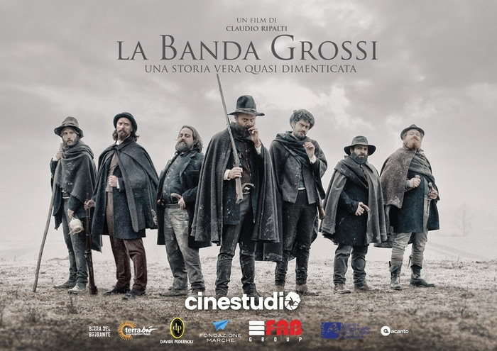 """In Italy, 1861, a gang of rebels was bound to change history. Criminals to some, heroes to others, they were called """"The Grossi Gang""""."""