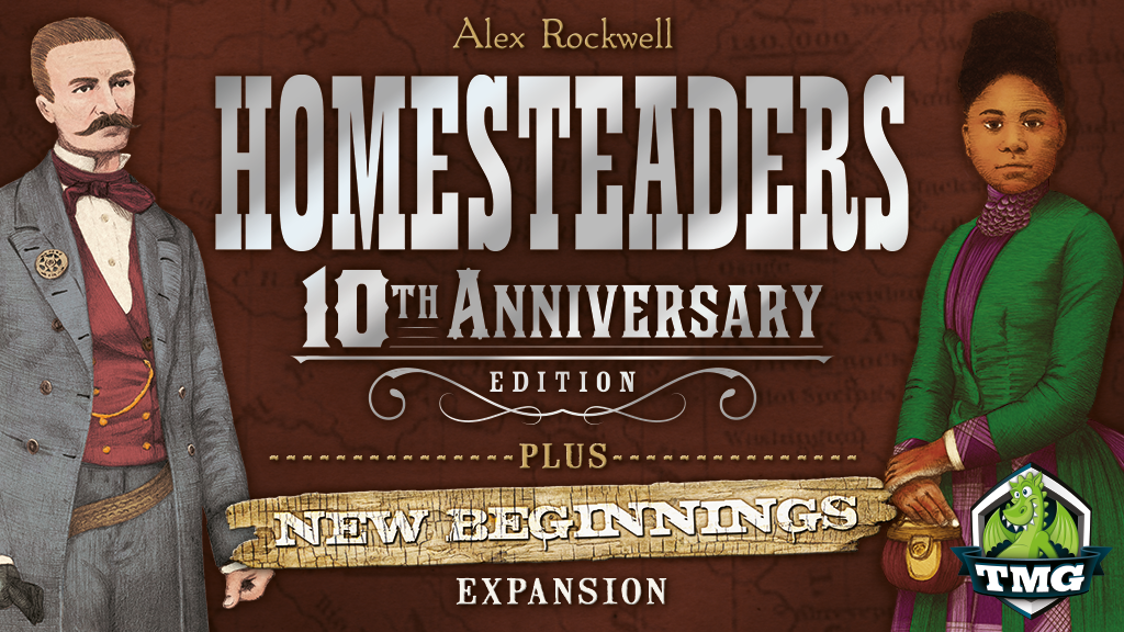 Homesteaders + All New Expansion project video thumbnail