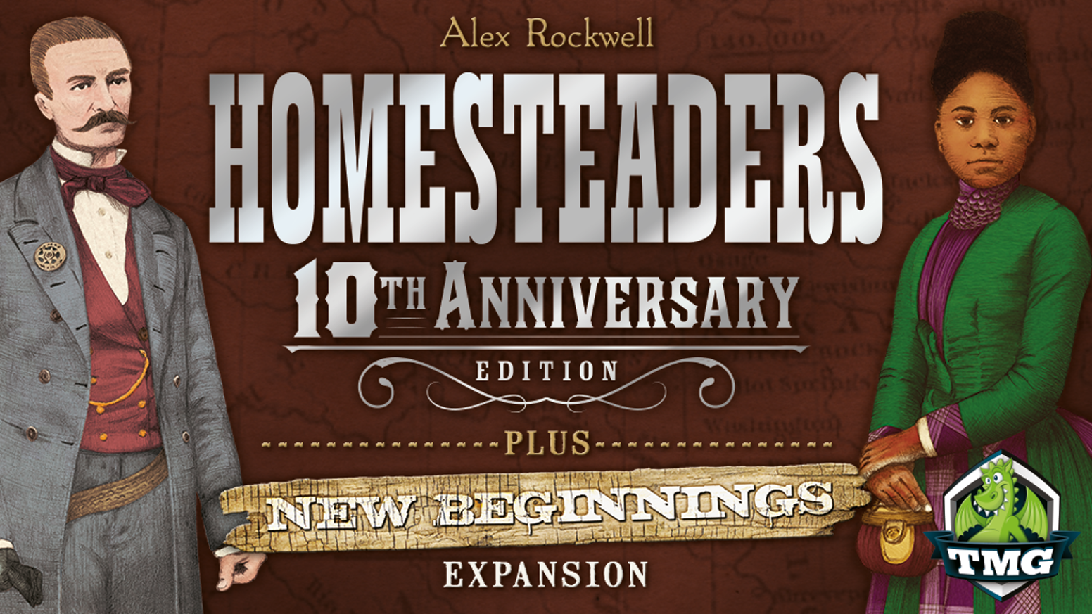 After being out of print for far too long, Homesteaders is back in an upgraded Anniversary Edition, with a brand new expansion!