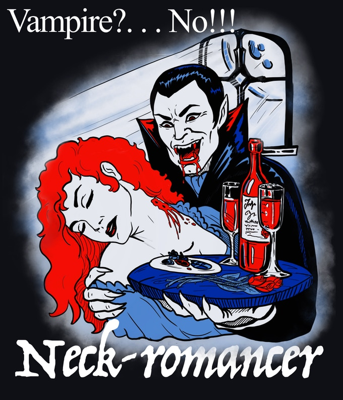 Neck-Romancer Gimmick T-Shirt