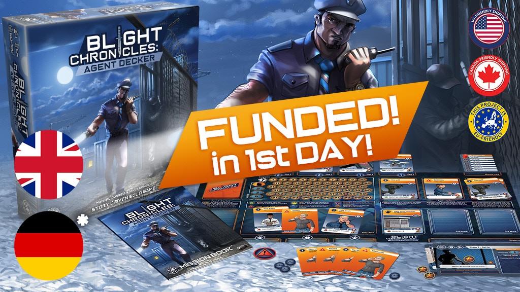 Blight Chronicles: Agent Decker project video thumbnail