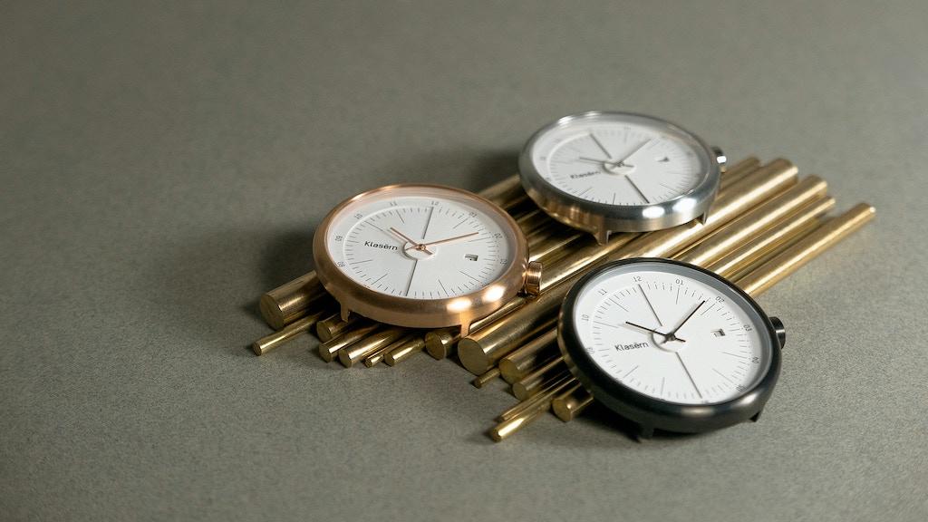 Klasern: Swiss Movement Watches project video thumbnail