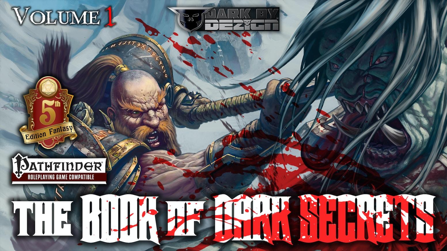 THE BOOK OF DARK SECRETS - D&D 5e Pathfinder Adventures by