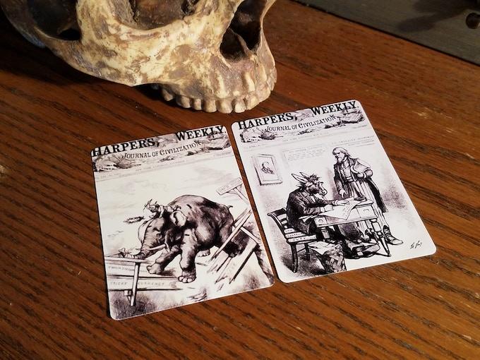 Democrat & Republican Cards