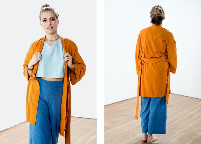 Forget-Me-Not-Kimono