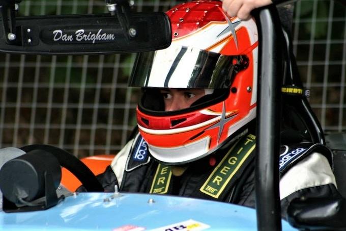 Dan In The Racing Seat Aged 17.