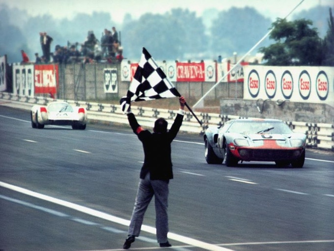 The Chequered Finish of Le Man 1969