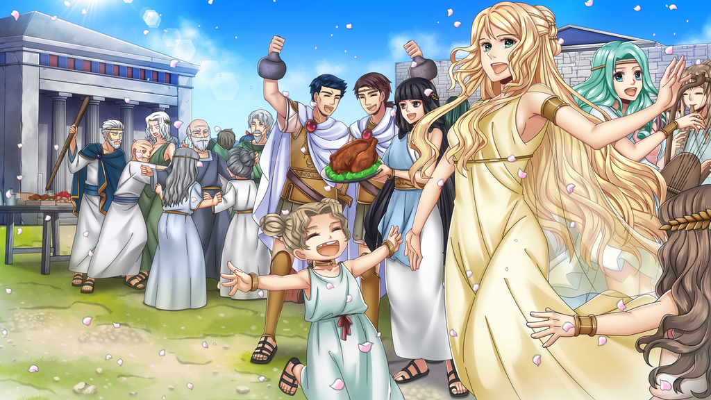 Lisistrata ☆ Visual Novel ☆ Adventure RPG project video thumbnail