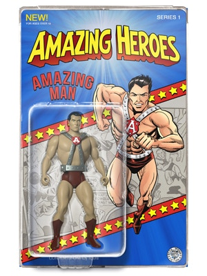 Amazing Man Action Figure